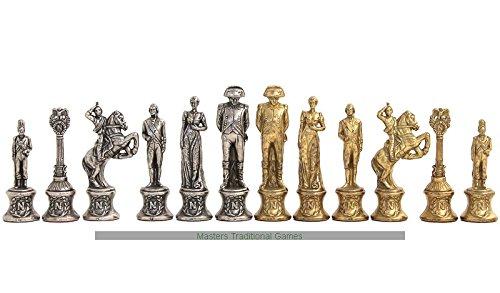 【一部予約!】 Italfama Chess Italfama Napoleon Metal Chess B072MV4L91 Set B072MV4L91, Fleur Town 吉本花城園:a94f4342 --- nicolasalvioli.com