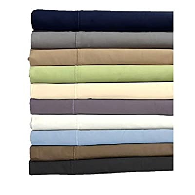 800 Thread Count 100% Egyptian Cotton 4 Piece Sheet Set, Queen, White by Overstock