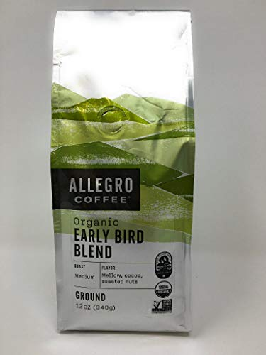 Allegro Coffee, Coffee Early Bird Blend Organic