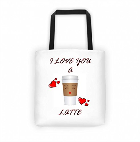 Suck My Mug - Love You A Latte Tote Bag 14.5