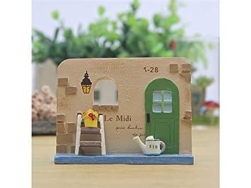 Foobrtopoo Einzigartiges Design Miniatur Haus Wand Fee Garten