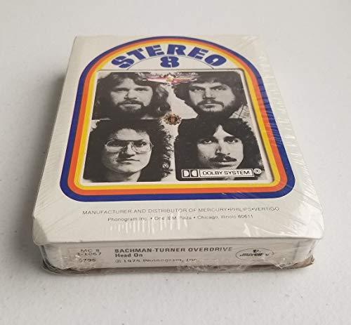 (Bachman-Turner Overdrive Head On Vintage 8 Track Tape Still)