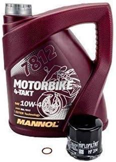 Öl Ölfilter Ölwechselset Passend Für Honda Cb1300 S Sc54 2002 2010 Auto