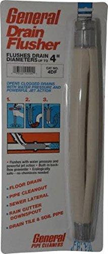 General Wire 4DF 4-Inch Drain Flusher Flush Bag, Small, (Drain Flusher Flush Bags)