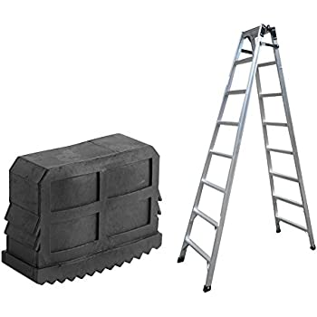 Beautiful 2pcs Black Rubber Step Ladder Feet Non Slip Ladder Foot Replacement Grip Cover Tools 100% Guarantee Tools