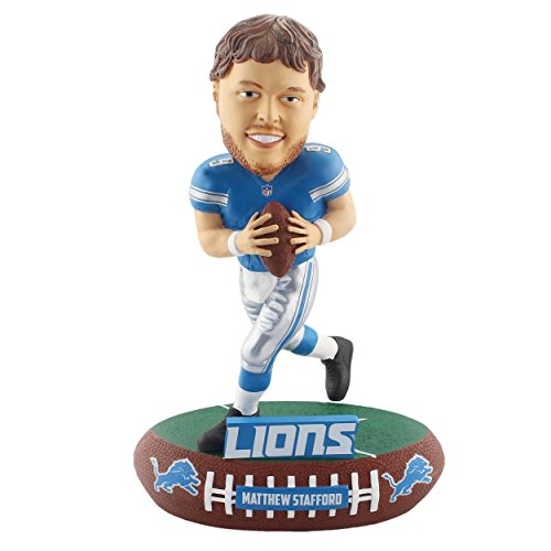 Forever Collectibles Matthew Stafford Detroit Lions Baller Special Edition Bobblehead NFL by Forever Collectibles