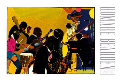 Out Chorus by Romare Bearden - 24 x 36 inches - Fine Art Pri