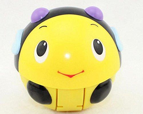 EEvER Happy Animal Music Ball elettronico vocale Giocattoli educativi per Bambini Bambino Giocattoli Honeybee