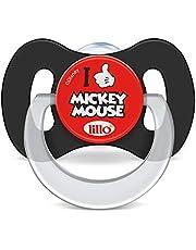 Chupeta Design Funny Disney Silicone Tam 2 - Lillo, Preto