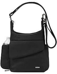 Anti-Theft Classic Messenger Bag, Black, One Size