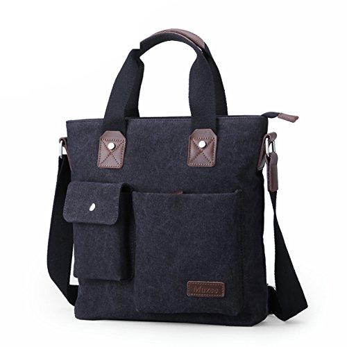 Bolsa de hombre de negocios/bolso de bandolera/Lona casual Messenger bag/Bolsa de hombres/Bolsas colgados/ maletín vertical-A A