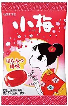 ロッテ 小梅 はちみつ梅味(17g)×20袋