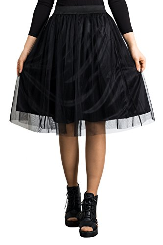 Double Layer Gathered Skirt - 4