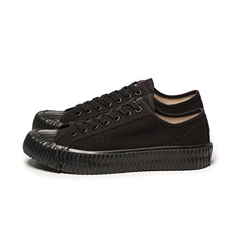 Vulcanized Black Sneakers Bolt EXCELSIOR Street Fashion Black top Style Unisex Low vq4A4RYw