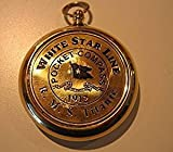 NAUTICALMART RMS Titanic 1912 Brass Pocket Compass! Beautiful Working Model. New!