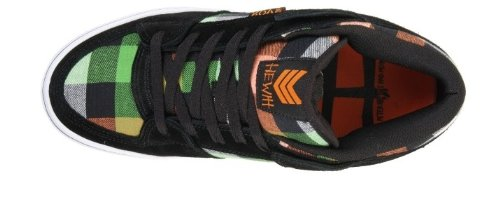 Vox Skateboard Schuhe Hewitt Beer Hunter Black Orange Green