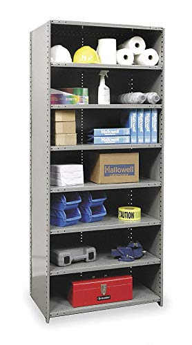 Starter Closed Metal Shelving, 48