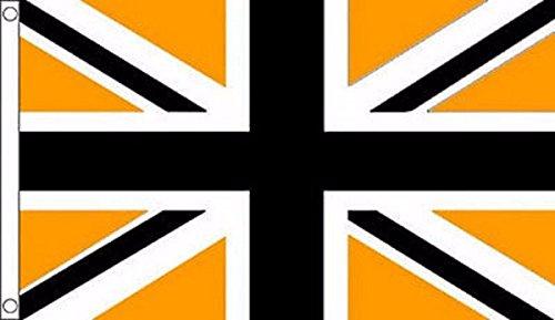 (Wolverhampton Wanderers Union Jack Flag 5'x3' (150cm x 90cm) - Woven)