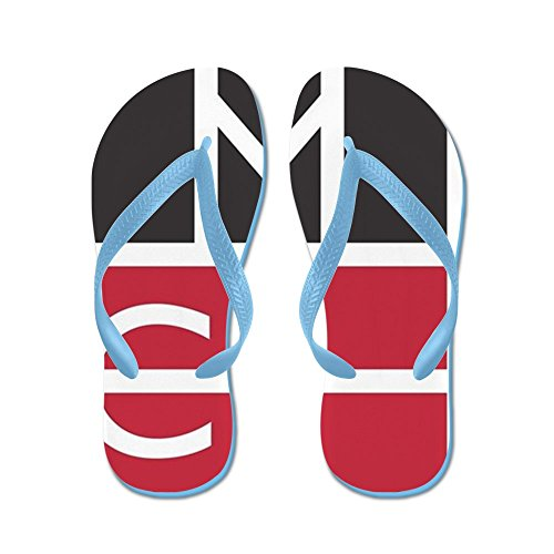 Logo Magep Cafepress - Infradito, Sandali Infradito Divertenti, Sandali Da Spiaggia Blu Caraibico