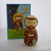 Saint Francis of Assisi Collectible Vinyl Figure