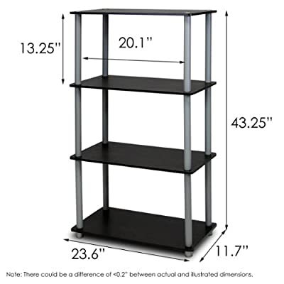 Furinno Turn-n-Tube Shelf