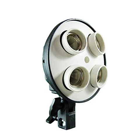 ePhoto Photography Video 4 CFL Light Lighting Head wit Umbrella Mount by ePhotoInc H04 (Light Wit Stand)