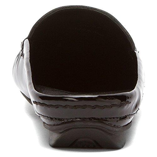 Rose Petals Womens Estee Moccasin Black Patent Leather etKEe