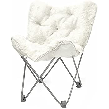 Beau Urban Shop Mongolian Faux Fur Butterfly Chair