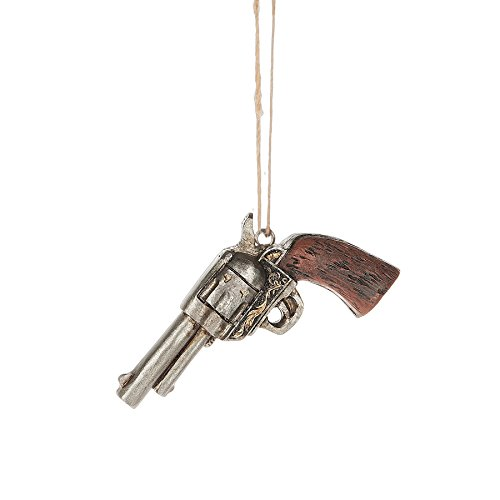 Western Santa Ornament (Midwest Western Six-Shooter Ornament)
