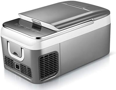 小型冷蔵庫,インテリジェントな温度制御、1°Cごとの正確な制御、ノイズのないDC12V / AC240Vオフィストラックキャンピングカーキャラバン用コンパクト冷蔵庫、18L / 26L