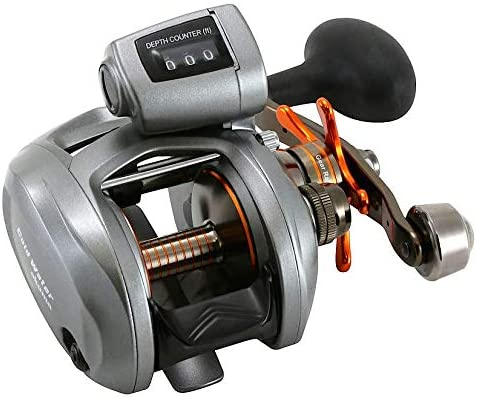 best musky reel: Okuma Coldwater 350 Low Profile Linecounter Reel