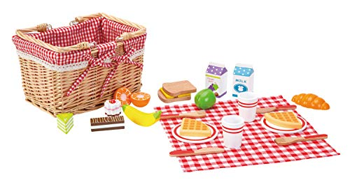 Fat Brain Toys 27 Piece Picnic Basket Playset