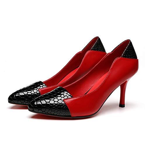 An Dgu00854 Sandali Red Donna Zeppa Con rr1xqwf