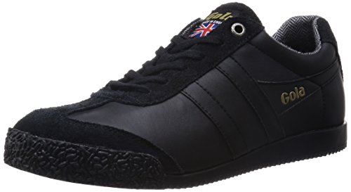 Gola Mens Harrier 68 Fashion Sneaker Nero / Nero