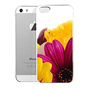 phone covers Light weight with strong PC plastic case for iPhone 5c Art Photography Flowers Daisies