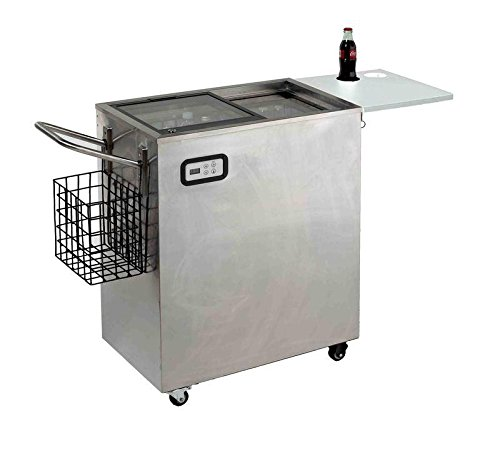 ORC2519SS Avanti 2.4 Cu. Ft. Outdoor Beverage Cart Stainless (Stainless Steel Refreshment Center)