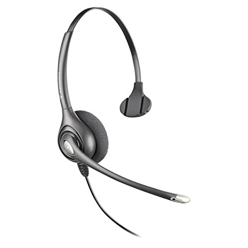 - Plantronics SUPRA PLUS MONAURAL/NC HEADSET ( HW251N ) - Silver/Gray (Renewed)