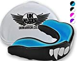 Adult's UK Warrior'Vampire' Mouth guard - The Ultimate Gum Shield for Boxing, Martial Arts, Karate, Rugby - Ideal Teeth Protection For Contact Sports