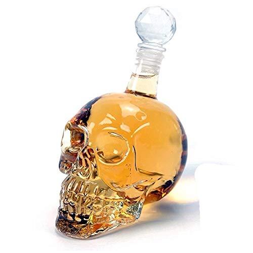 Zoomy Far Lejos zoomy: New llegan cabeza del cráneo de cristal botella de whisky de la vodka vino de la jarra de cerveza...
