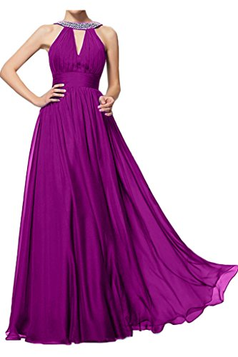 Fest alla sera da abito Lungo moda donna Fuchsie ressing vestito Prom da di Abito pietre a linea ivyd Abito Party Aqtwz4x1