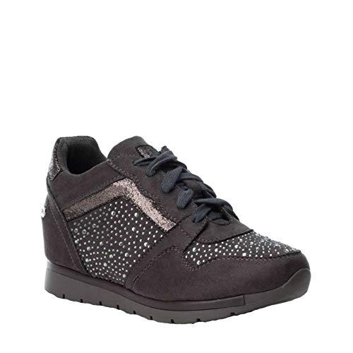 Ville pour Chaussures de à Gris Femme Lacets Xti X4E6wqX