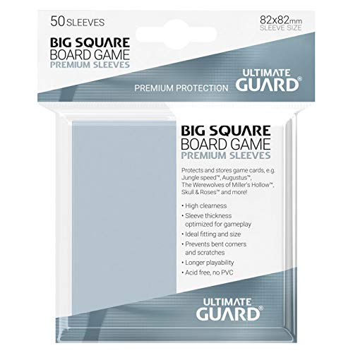 Amazon.com: Ultimate Guard Clear Big Square Board Game ...