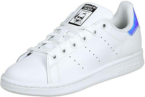 adidas Stan Smith J Blanc Metallic Argent Blanc white