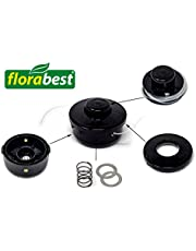 Flora Best–Cabezal roscador Completo Compatible con gasolina Sense FBS 43B2cortabordes | Césped Sense | Desbrozadora (se compone de: Bobina, Muelle, hilos, campana y Bobina de grabación