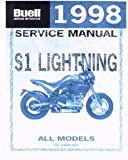 99490-98Y 1998 Buell S1 S1W Lightning White Lightning Motorcycle Service Manual