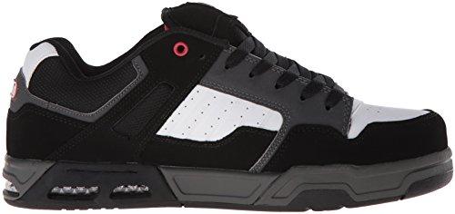 Dvs Mens Enduro Heir Skateboard Chaussure Noir / Rouge / Gris