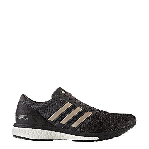 adidas Adizero Boston 6 W, Zapatillas de Running para Mujer Negro (Neguti / Metpla / Negbas)