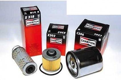 X 321 f/ür Yamaha FJ 1200 1XJ 1986-1987 X 315 /Ölfilter Champion COF301 X 303