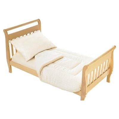 American Baby Company Minky Dot Chenille 4-piece Toddler Bed Set from American Baby Company