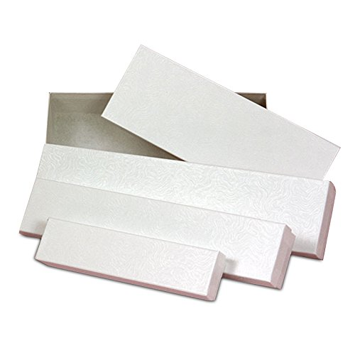 White Silverware Box 6-1/2'' X 1 3/8'' | Quantity: 100 by Paper Mart (Image #1)
